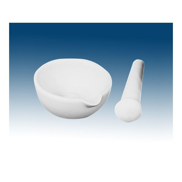 レオナ 乳鉢(光沢)磁製(乳棒付)(4個入り) 110mL MG-100 1パック(4個) 61-9632-16(直送品)