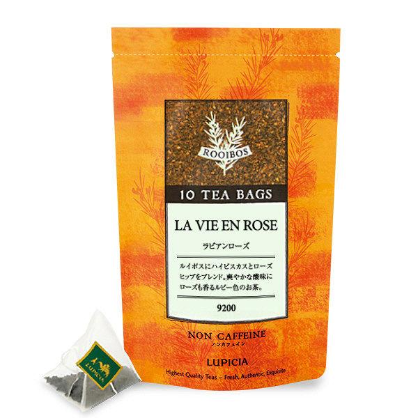 ルピシア 9200 LA VIE EN ROSE(ラビアンローズ)ティーバッグ 1袋(10バッグ)