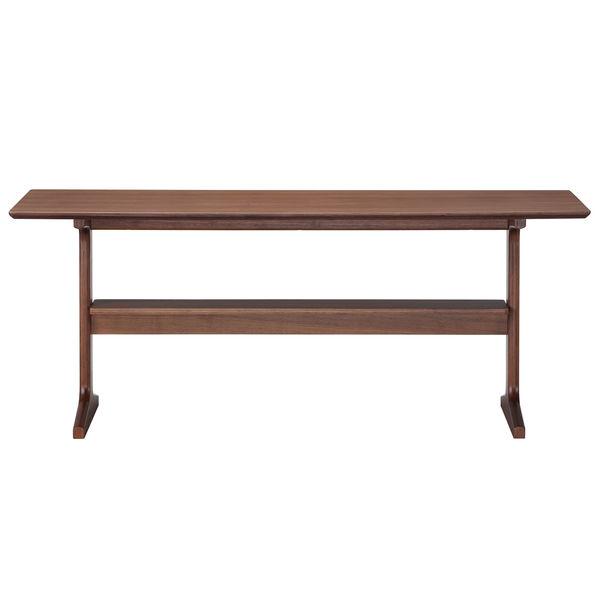 無印良品 リビングでもダイニングでもつかえるテーブル・1・ウォールナット材