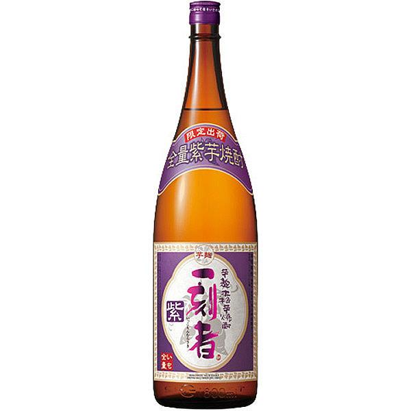 全量芋焼酎「一刻者」<紫>25°1.8L