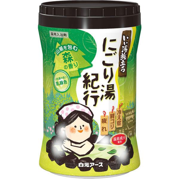 にごり湯紀行 森の香り 600g