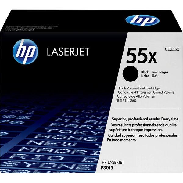 HP(ヒューレット・パッカード) CE255X プリントカートリッジ 黒 (P3015) 1個 (直送品)