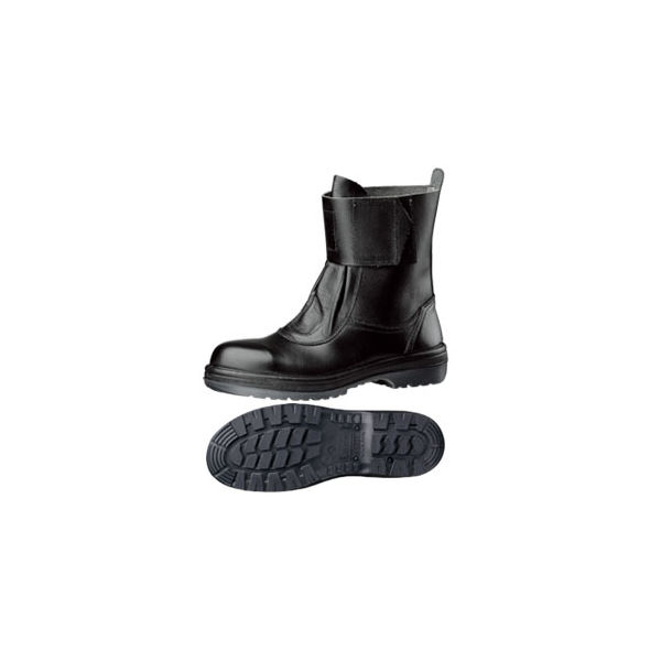 ミドリ安全 耐熱 安全靴 RT173N ブラック 23.5cm(3E) 1足 (直送品)