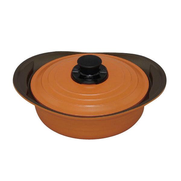 アイリスオーヤマ 無加水鍋 24cm浅型
