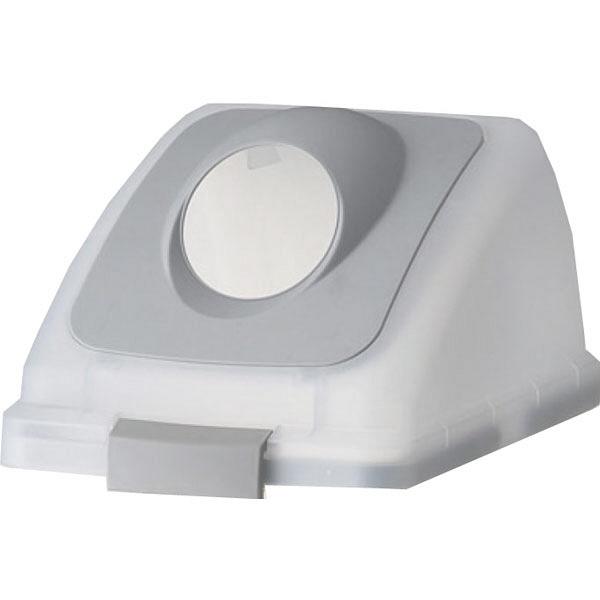 リサイクルトラッシュSKL-35 丸穴蓋 グレー (直送品)