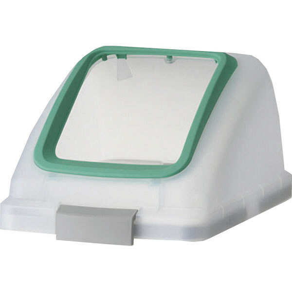 リサイクルトラッシュSKL-35 角穴蓋 グリーン (直送品)