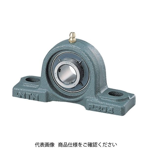 NTN(エヌティエヌ) NTN G ベアリングユニット(止めねじ式) 軸径12mm 中心高さ30.2mm UCP201D1 1個 214-0489(直送品)