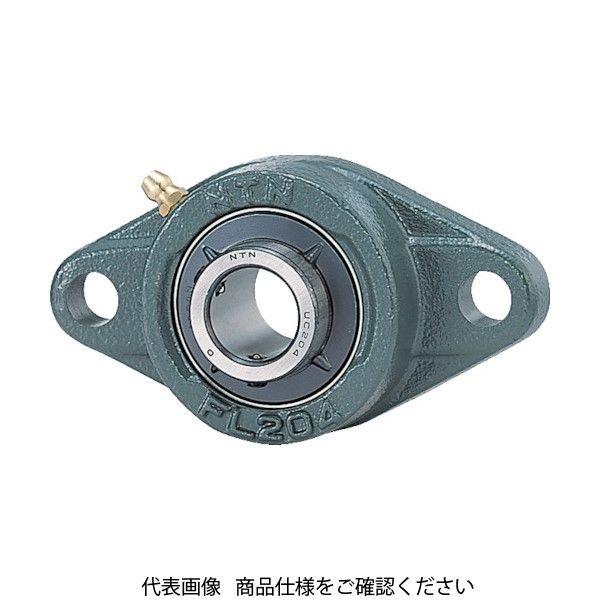 NTN(エヌティエヌ) NTN G ベアリングユニット(止めねじ式)軸径70mm全長265mm全高160mm UCFL214D1 214-3674(直送品)
