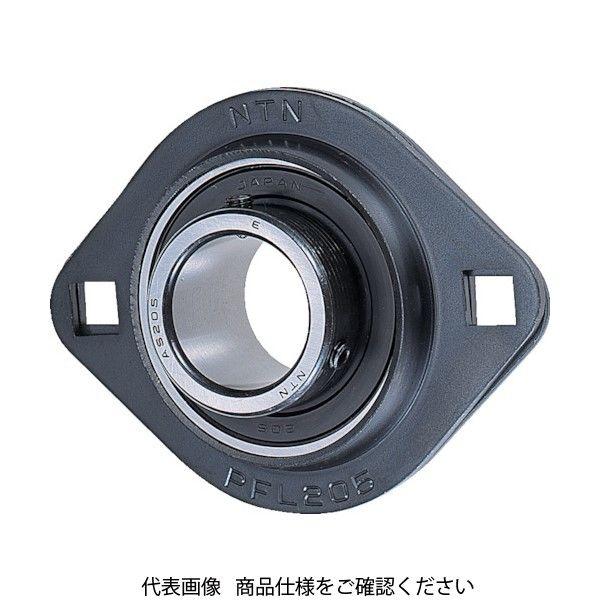 NTN(エヌティエヌ) NTN G ベアリングユニット(止めねじ式)軸径25mm全長95mm全高71mm ASPFL205 1個 224-7739(直送品)
