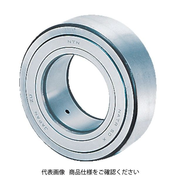 NTN(エヌティエヌ) NTN F ニードルベアリング 内径8mm 外径24mm 幅15mm NATR8XLL 1個 225-1353(直送品)