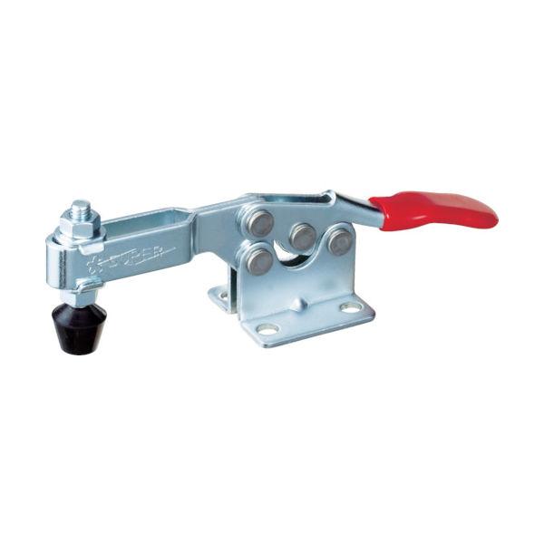 スーパー 下方押え型トグルクランプ(水平ハンドル式)全長142mm 締付力0.9kN TDH350F 409-4115(直送品)