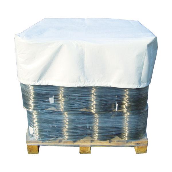 旭産業 アサヒ パレットキャップ(大) 1100X1100XH500mm 白 TPC-2 1枚 410-0611(直送品)