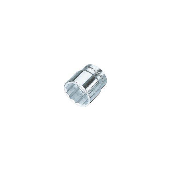 スーパーツール(SUPER TOOL) スーパー ソケツトレンチ用ソケツト12角(差込角9.5mm)六角対辺19mm NHS319 409-3542(直送品)