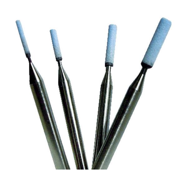 大和製砥所 チェリー 精密軸付砥石320 3.3x10x3x45 (10本入) QB-3.3 1箱(10本) 412-8311(直送品)