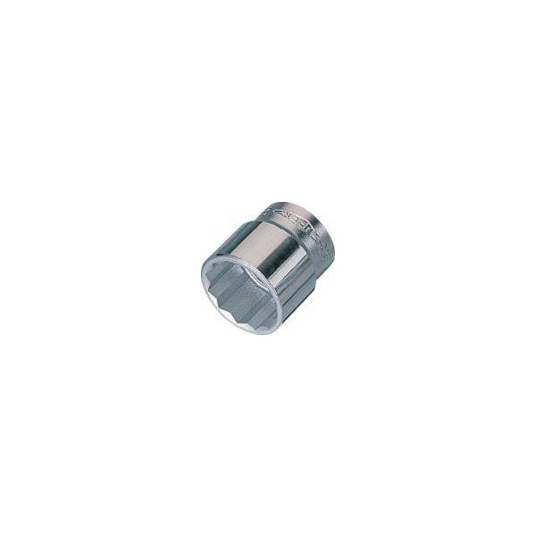 スーパーツール(SUPER TOOL) スーパー ソケットレンチ用ソケット12角(3/8 ) NHS324 1個 409-3585(直送品)