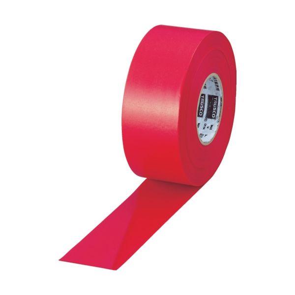 トラスコ中山(TRUSCO) TRUSCO 目印テープ 30mmX50m レッド TMT-30R 1巻(50m) 408-9073(直送品)