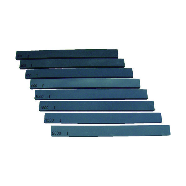 大和製砥所 チェリー 金型砥石 C(カーボン) (10本入) 150X13X5 C63F 280 1箱(10本) 416-7741(直送品)
