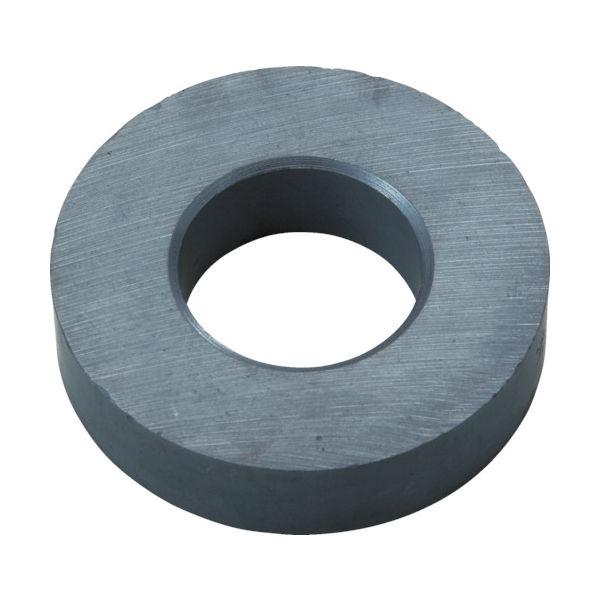 トラスコ中山(TRUSCO) TRUSCO フェライト磁石 外径45mmX厚み10.5mm (1個=1PK) TF45RA-1P 415-1798(直送品)