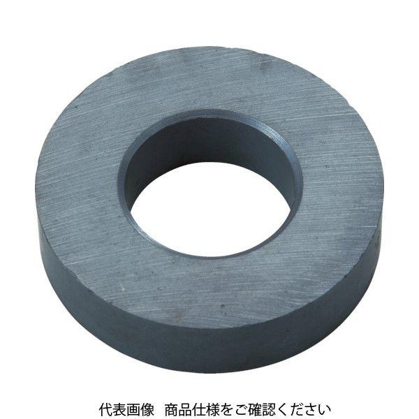 トラスコ中山(TRUSCO) TRUSCO フェライト磁石 外径55mmX厚み12mm (1個=1PK) TF55RA-1P 1個 415-1801(直送品)