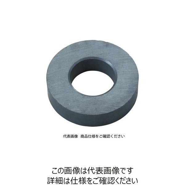 トラスコ中山(TRUSCO) TRUSCO フェライト磁石 外径80mmX厚み10mm (1個=1PK) TF80RA-1P 1個 415-1836(直送品)