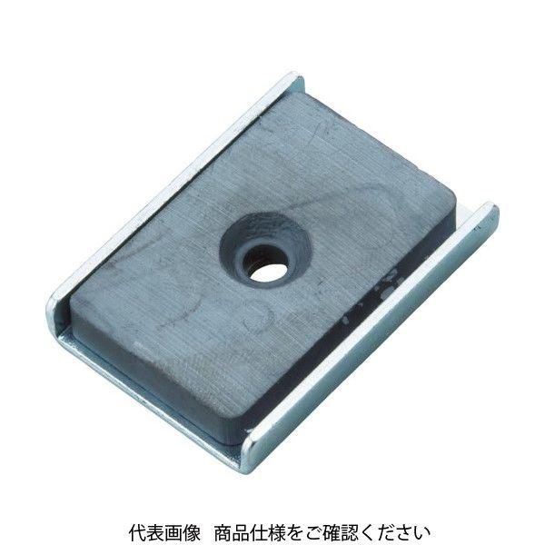 トラスコ中山(TRUSCO) TRUSCO キャップ付フェライト磁石25.5mmX23.5mmX6.5mm TFC25KA-10P 415-1658(直送品)