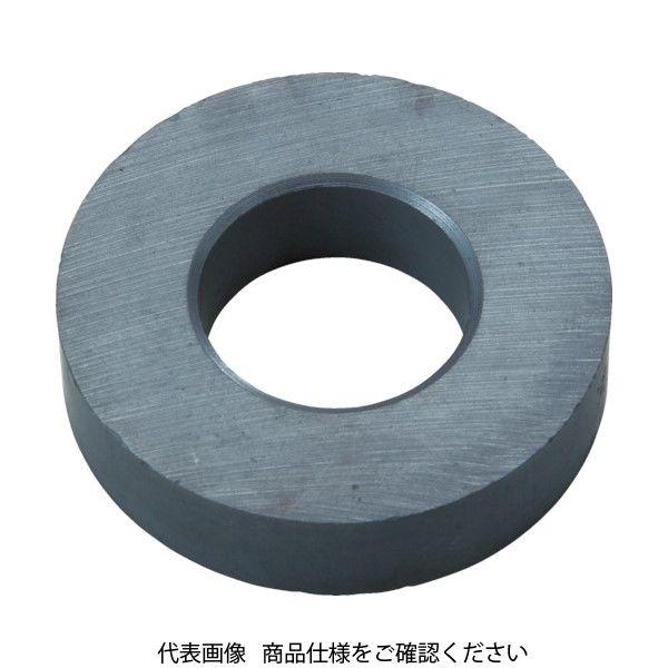 トラスコ中山(TRUSCO) TRUSCO フェライト磁石 外径55mmX厚み12mm 10個入り TF55RA-10P 415-1356(直送品)