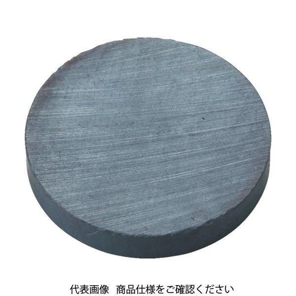 トラスコ中山(TRUSCO) TRUSCO フェライト磁石 外径50mmX厚み10mm (1個=1PK) TF50R-1P 1個 415-1763(直送品)