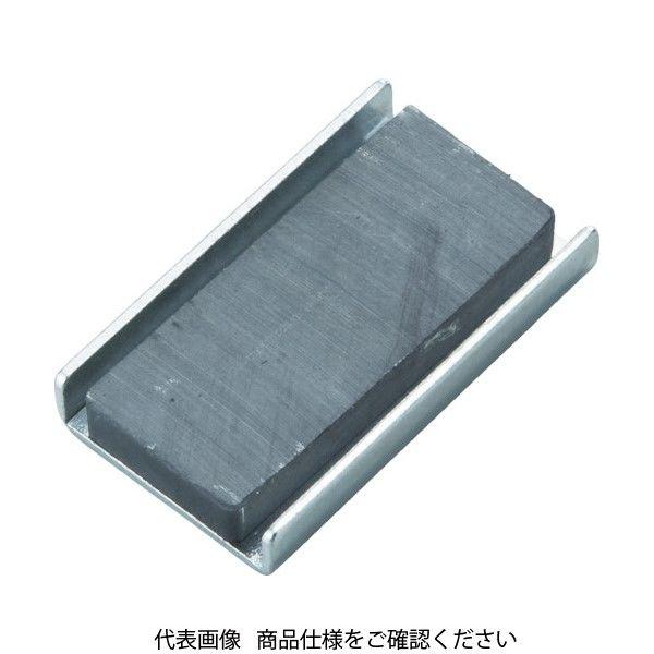 トラスコ中山(TRUSCO) TRUSCO キャップ付フェライト磁石20mmX8.4mmX4.2mm10個 TFC20K-10P 415-1593(直送品)