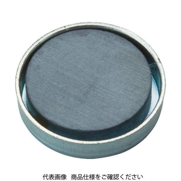 トラスコ中山(TRUSCO) TRUSCO キャップ付フェライト磁石 外径36mmX厚み7.5mm 1個入り TFC36R-1P 415-1941(直送品)