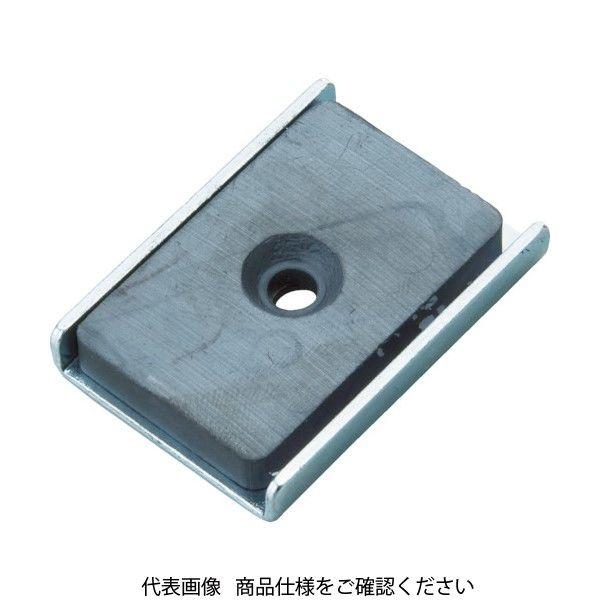 トラスコ中山(TRUSCO) TRUSCO キャップ付フェライト磁石49mmX41mmX12.8mm 1個入 TFC49KA-1P 415-2131(直送品)