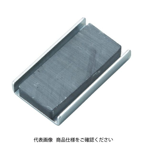 トラスコ中山(TRUSCO) TRUSCO キャップ付フェライト磁石 79mmX38mmX13mm 1個入り TFC79K-1P 415-2093(直送品)