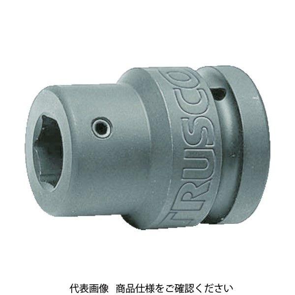TRUSCO インパクト用ヘキサゴンソケット差替式ソケット・ビット 差込角25.4mm 対辺22mm T8-22AHH 419-9430(直送品)