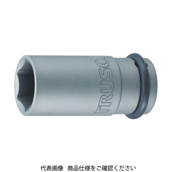 トラスコ中山(TRUSCO) TRUSCO インパクト用ロングソケット(差込角25.4)対辺60mm T8-60AL 1個 419-9545(直送品)