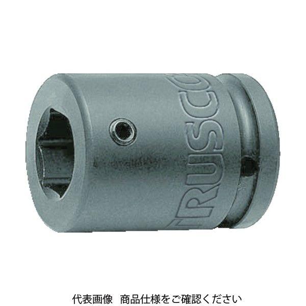 TRUSCO インパクト用ヘキサゴンソケット差替式ソケット・ビット 差込角19.0mm 対辺22mm T6-22AHH 419-9278(直送品)