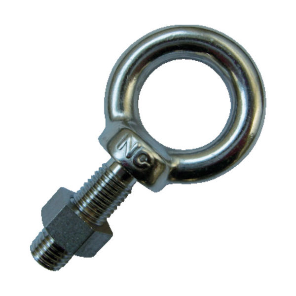 浪速鉄工 NANIWA アイボルト SUS304 M20×50 EL9102050 1個 419-1099(直送品)