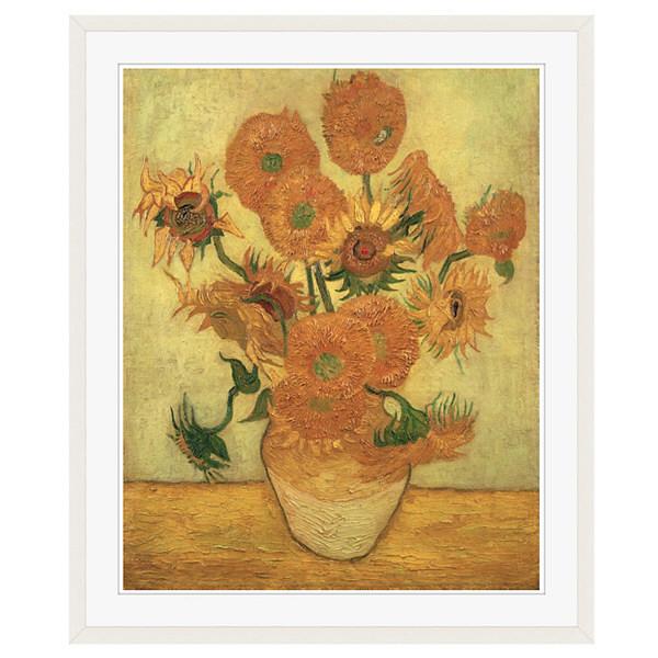 アートプリントジャパン 「Sunflowers 1889」 フレーム/XL/ホワイト 1枚