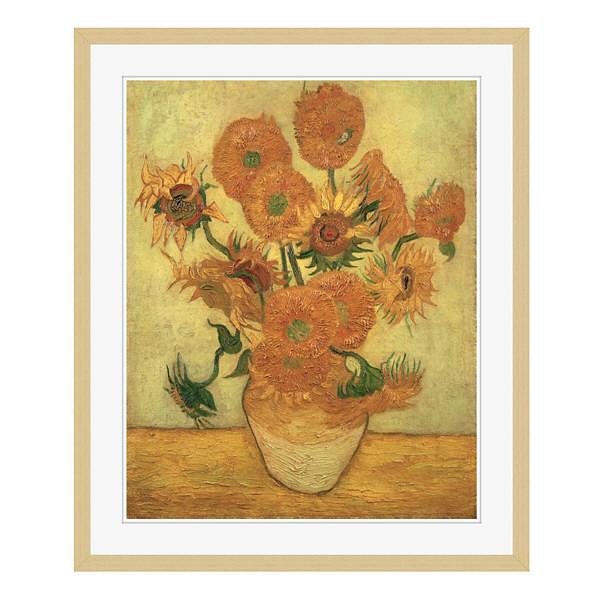 アートプリントジャパン 「Sunflowers 1889」 フレーム/L/木目 1枚