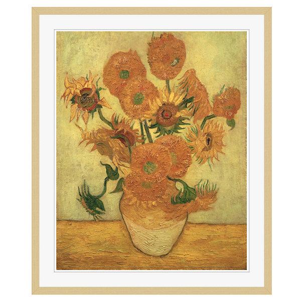 アートプリントジャパン 「Sunflowers 1889」 フレーム/XL/木目 1枚