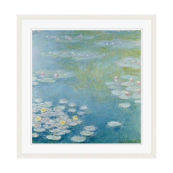 アートプリントジャパン 「Nympheas at Giverny by Monet Claude」 フレーム/XL/ホワイト 1枚