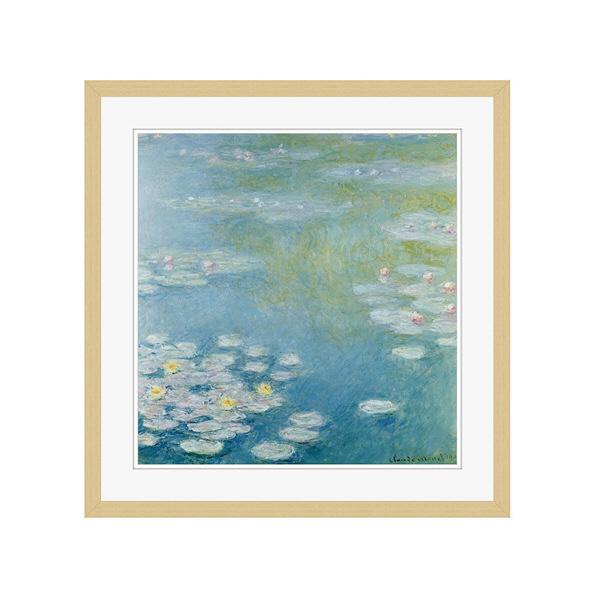 アートプリントジャパン 「Nympheas at Giverny by Monet Claude」 フレーム/L/木目 1枚