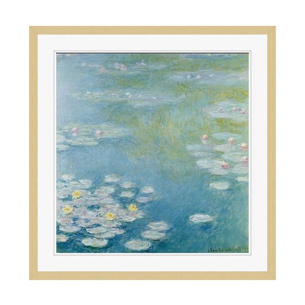 アートプリントジャパン 「Nympheas at Giverny by Monet Claude」 フレーム/XL/木目 1枚
