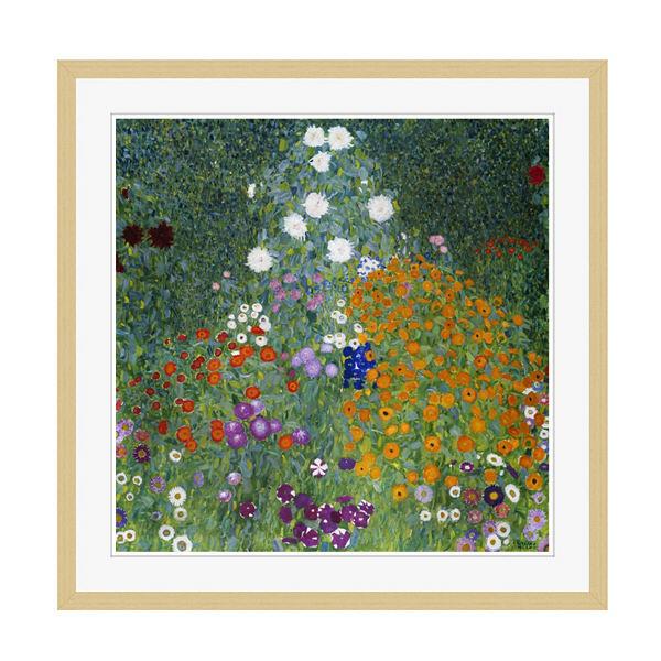 アートプリントジャパン 「Farmers Garden by Gustav Klimt」 フレーム/XL/木目 1枚