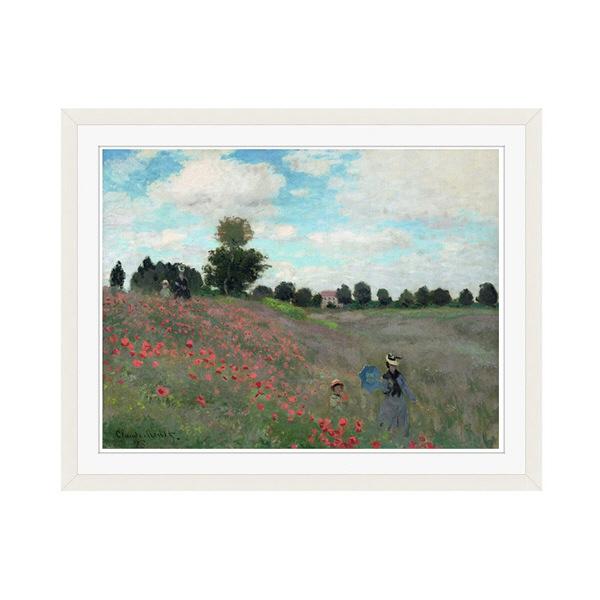 アートプリントジャパン 「Wild by Claude Monet」 フレーム/M/ホワイト 1枚