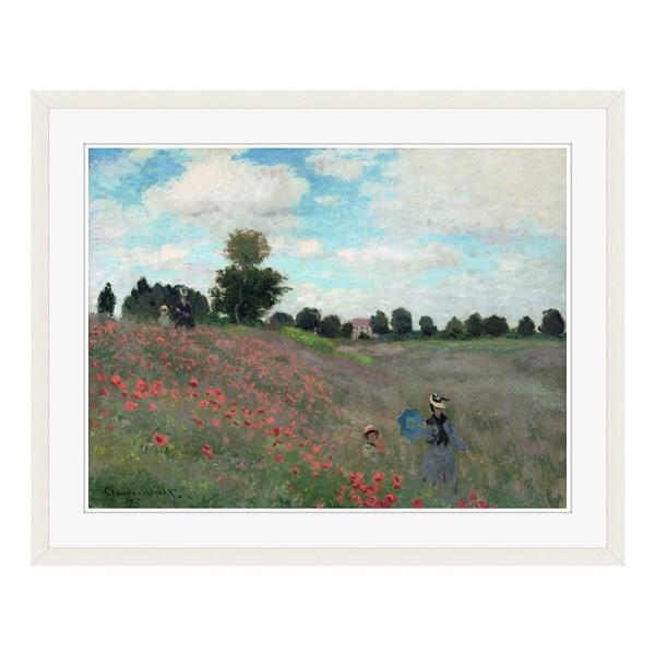 アートプリントジャパン 「Wild by Claude Monet」 フレーム/L/ホワイト 1枚