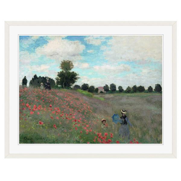アートプリントジャパン 「Wild by Claude Monet」 フレーム/XL/ホワイト 1枚