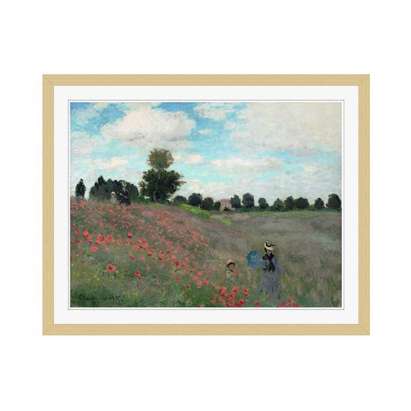 アートプリントジャパン 「Wild by Claude Monet」 フレーム/M/木目 1枚