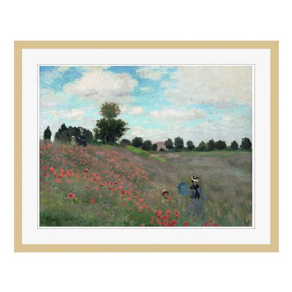 アートプリントジャパン 「Wild by Claude Monet」 フレーム/L/木目 1枚