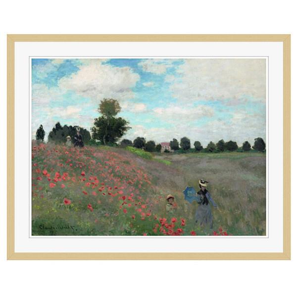 アートプリントジャパン 「Wild by Claude Monet」 フレーム/XL/木目 1枚