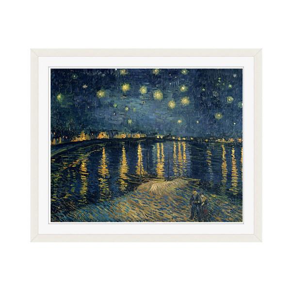 アートプリントジャパン 「The Starry Night 1888」 フレーム/M/ホワイト 1枚