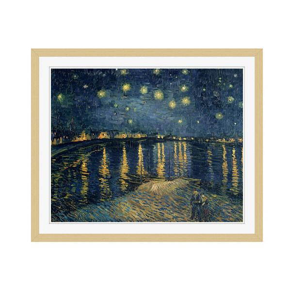 アートプリントジャパン 「The Starry Night 1888」 フレーム/M/木目 1枚